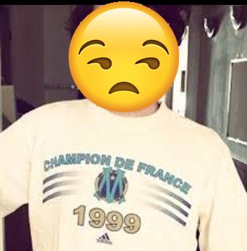 T-shirt OM champion de France 1999
