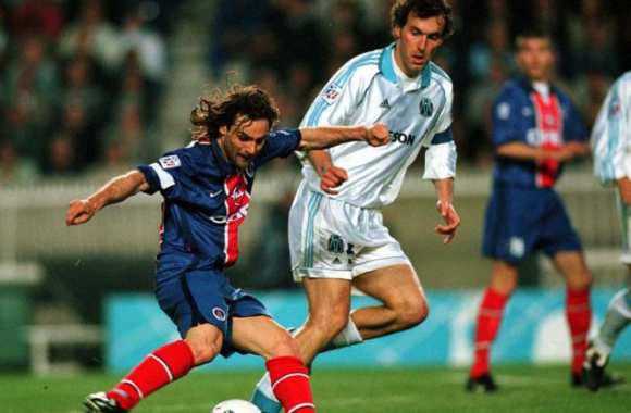 Marco Simone PSG OM 1999